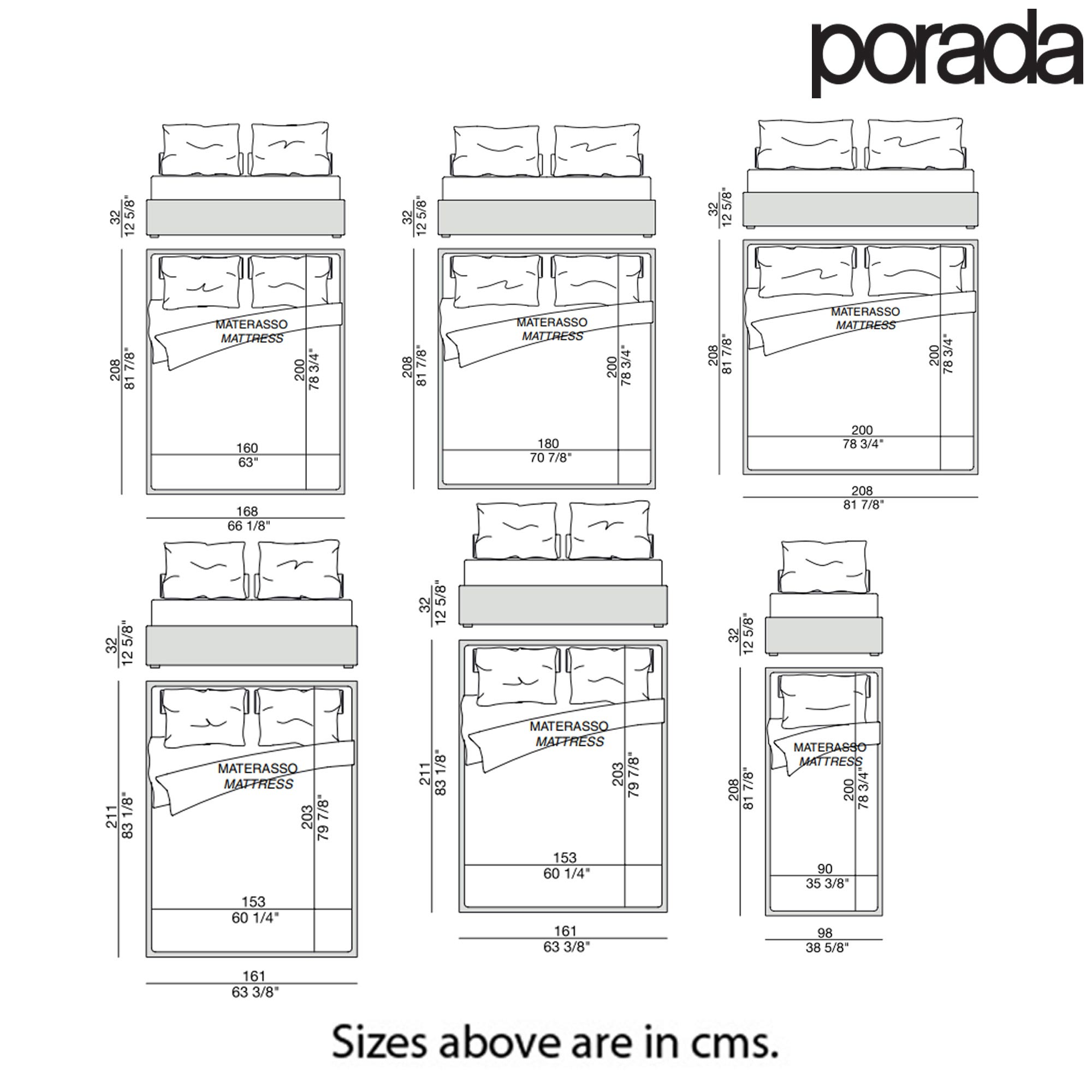 Apollo Double Bed by Porada
