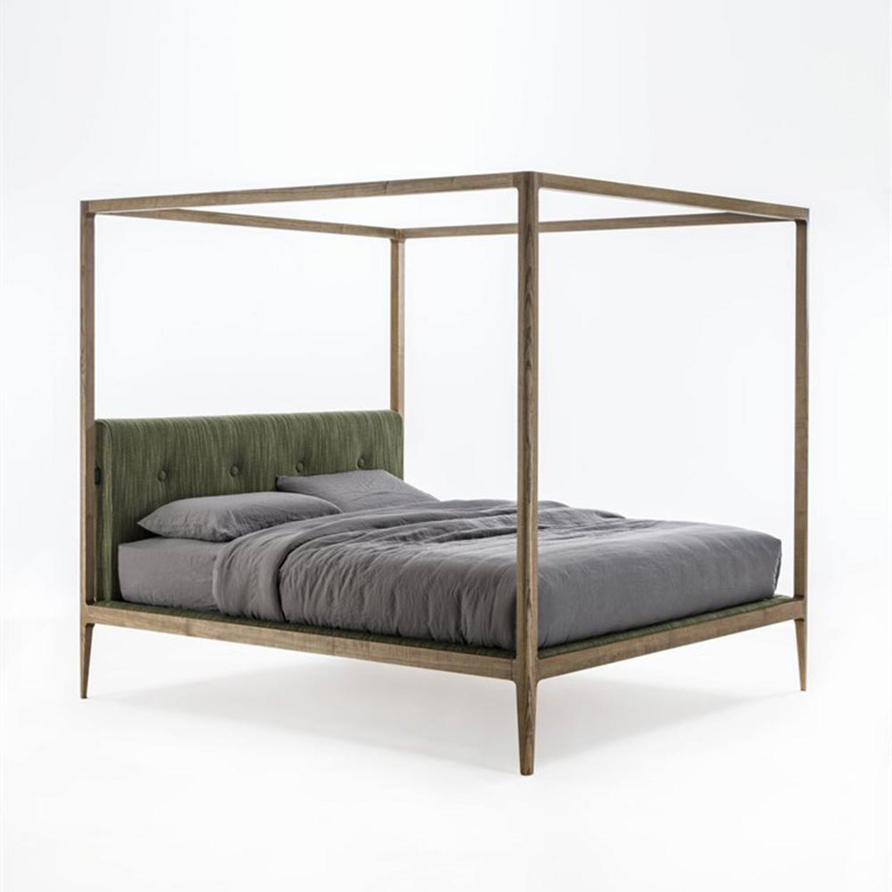 Ziggy Canopy Double Bed by Porada
