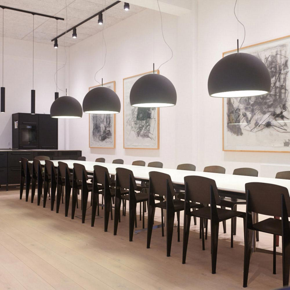 Biluna Suspension Lamp by Prandina
