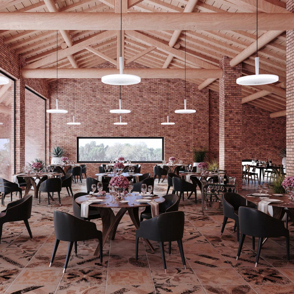 Equilibre Suspension Lamp by Prandina