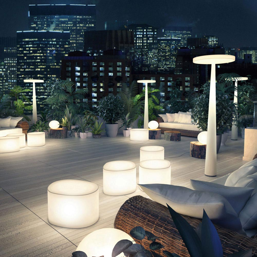 Room Floor Lamp by Prandina