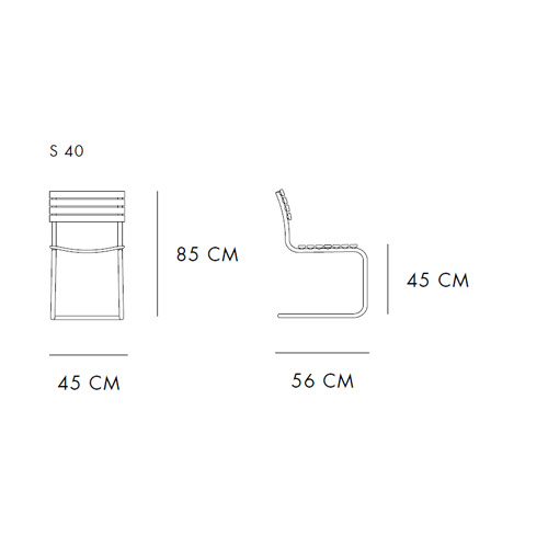 209 Armchair by Thonet