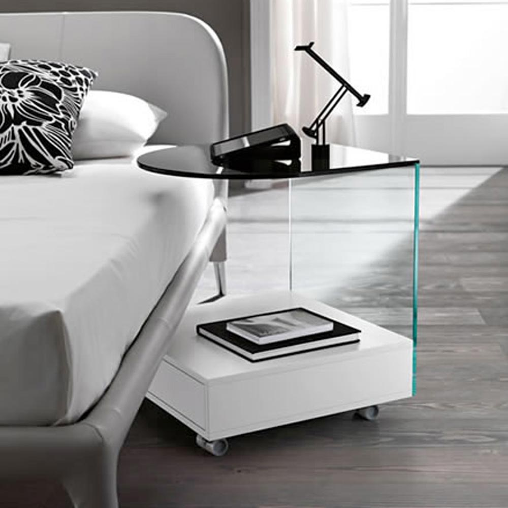 Rollo Bedside Table by Tonelli Design