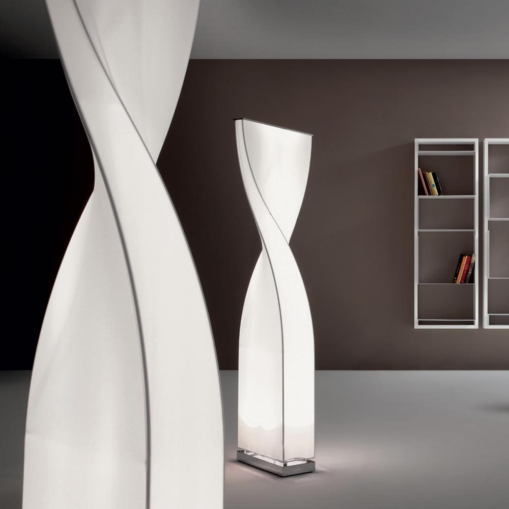 Twisty Floor Lamp by Tonon