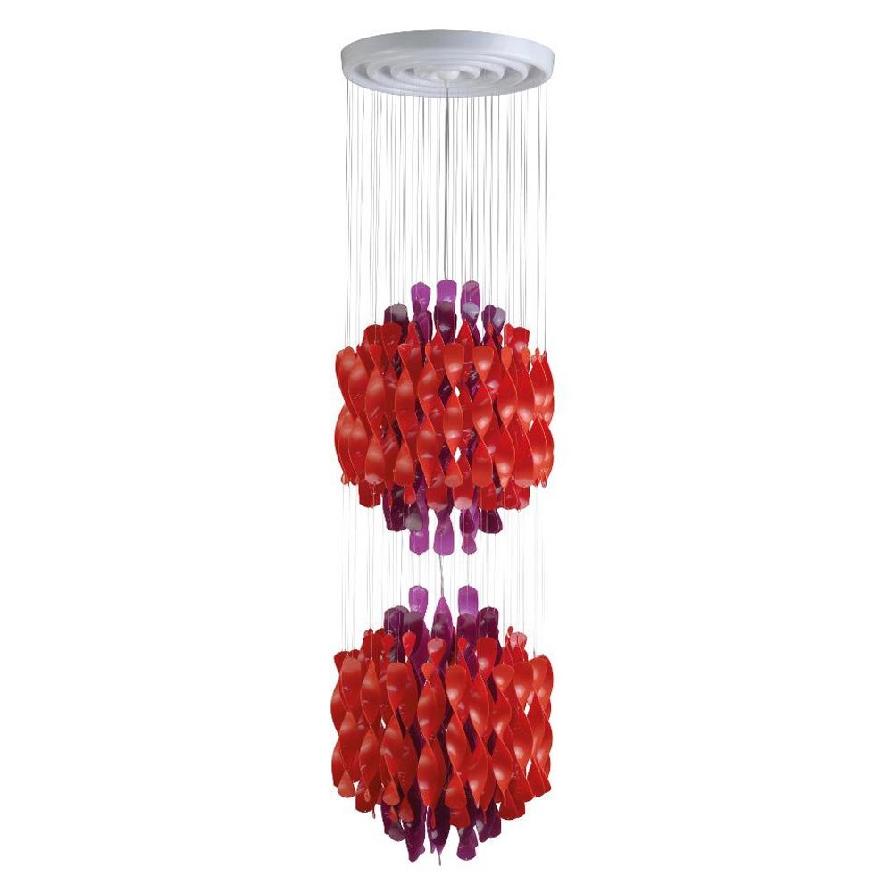 Spiral Sp2 Multicolour Pendant Lamp by Verpan