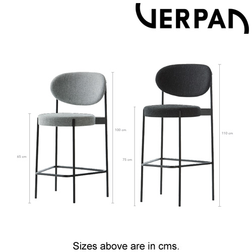 Series 430 Bar Stool by Verpan