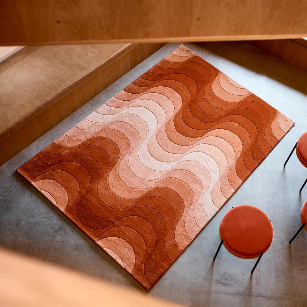 Wave Rug by Verpan