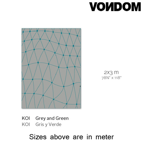 Koi Green Rug by Vondom