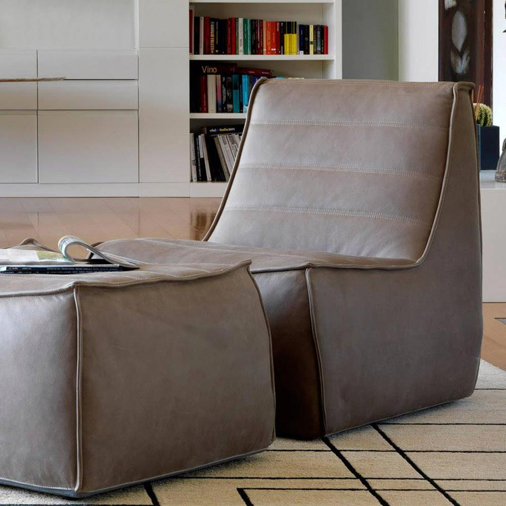 Nano Armchair Accent Collection by Naustro Italia
