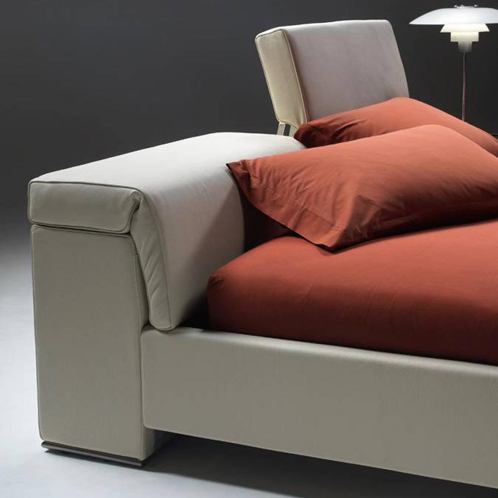 Plan Bed A Double Bed Accent Collection by Naustro Italia