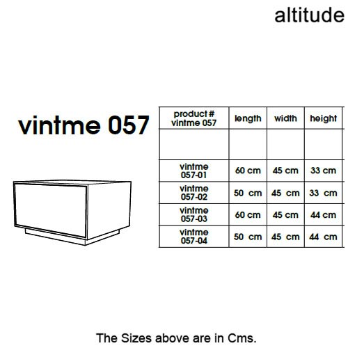 Vintme 057 Bedside Table by Altitude