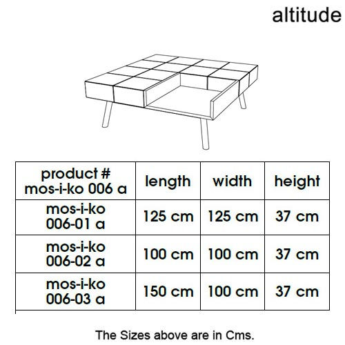 Mos-I-Ko 006 A Coffee Table by Altitude