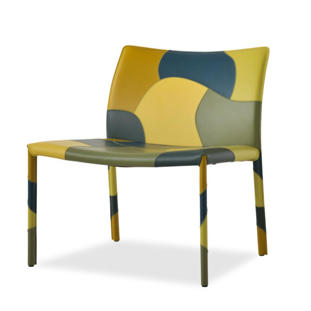 Patchwork - L Lounge Chair by Aria