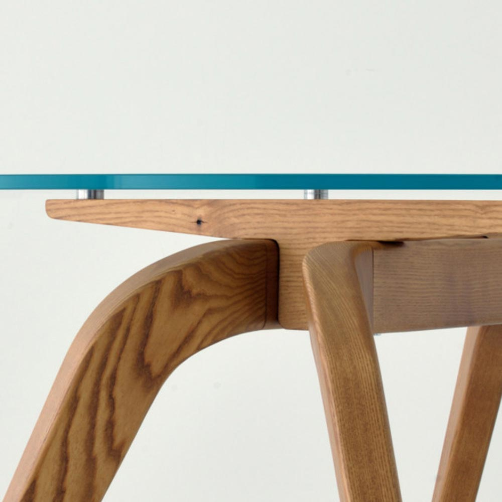 Wood - R Dining Table by Aria