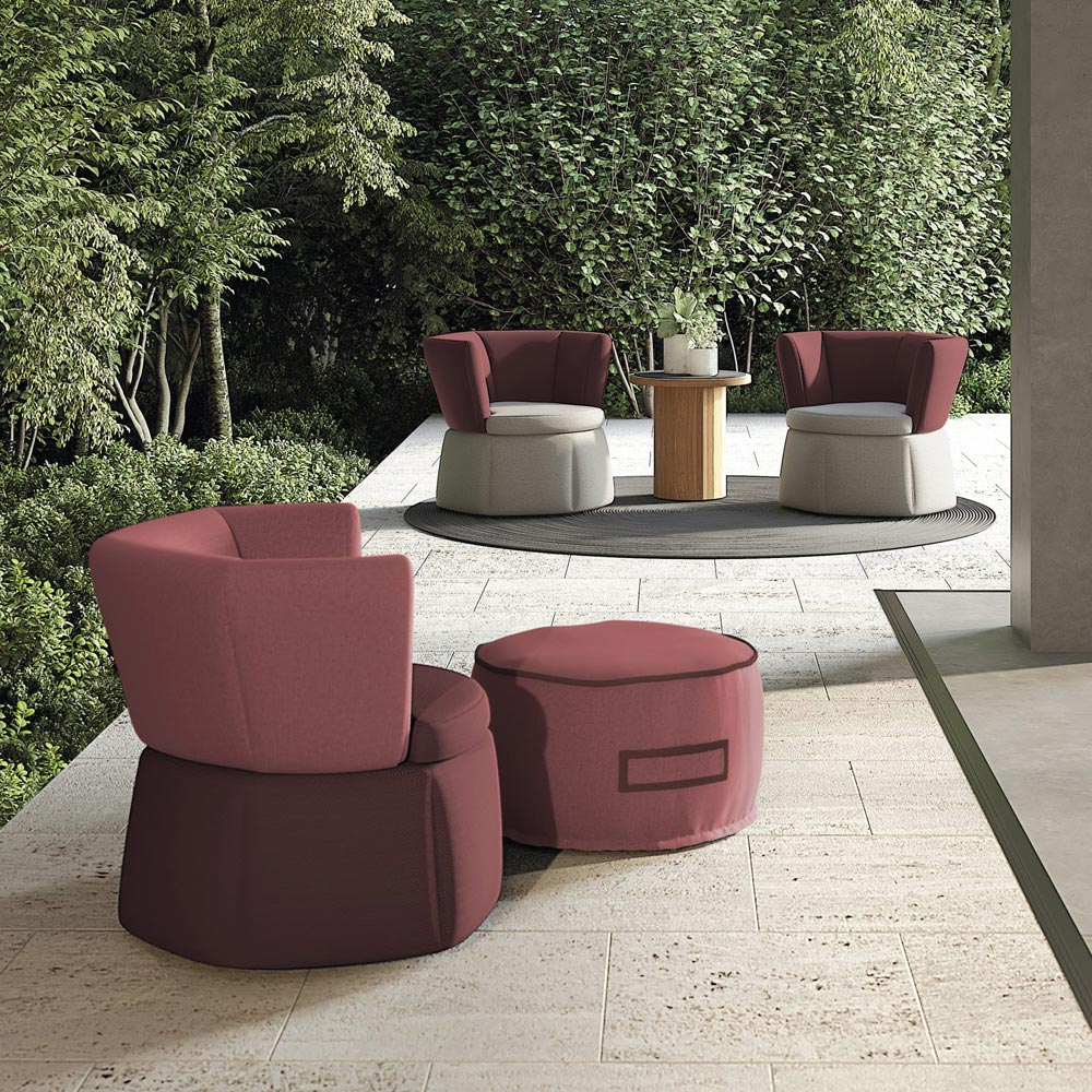 Soft Dia 60 | Outdoor Pouf | Atmosphera