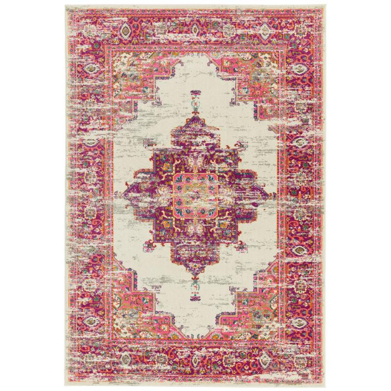 Colt Cl03 Medallion Pink Rug by Attic Rugs