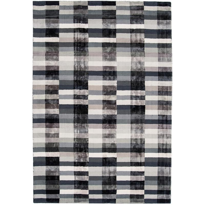 Deco Graphite Rug by Attic Rugs