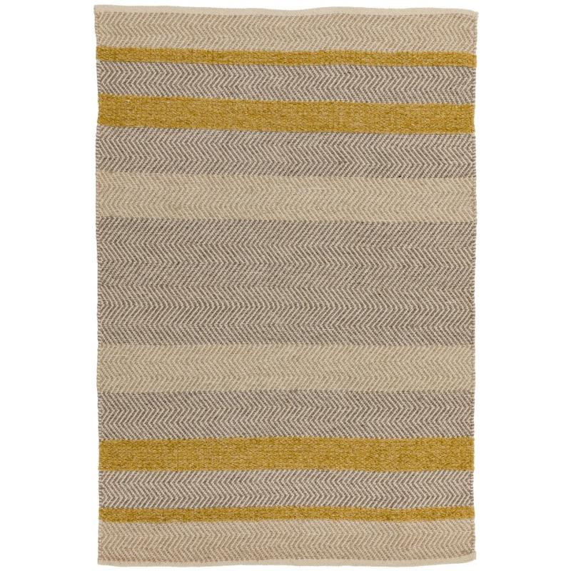 Fields Mustard Rug by Attic Rugs