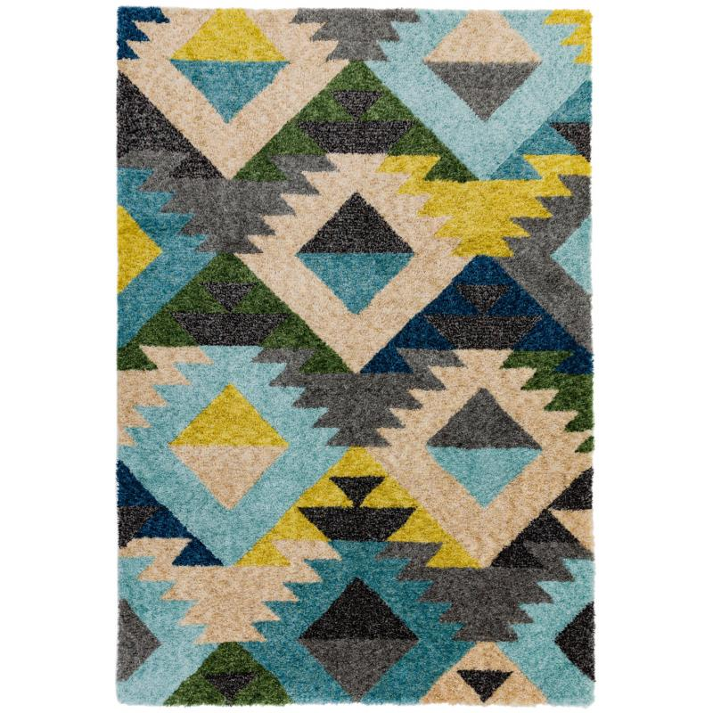 Gala Ga02 Diamond Multi Rug by Attic Rugs