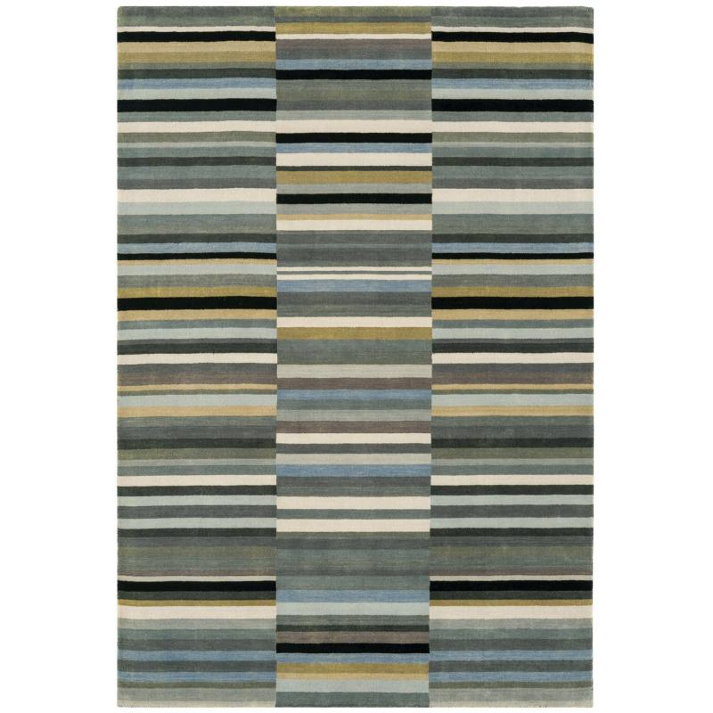 Jacob Black/ Silver Rug by Attic Rugs