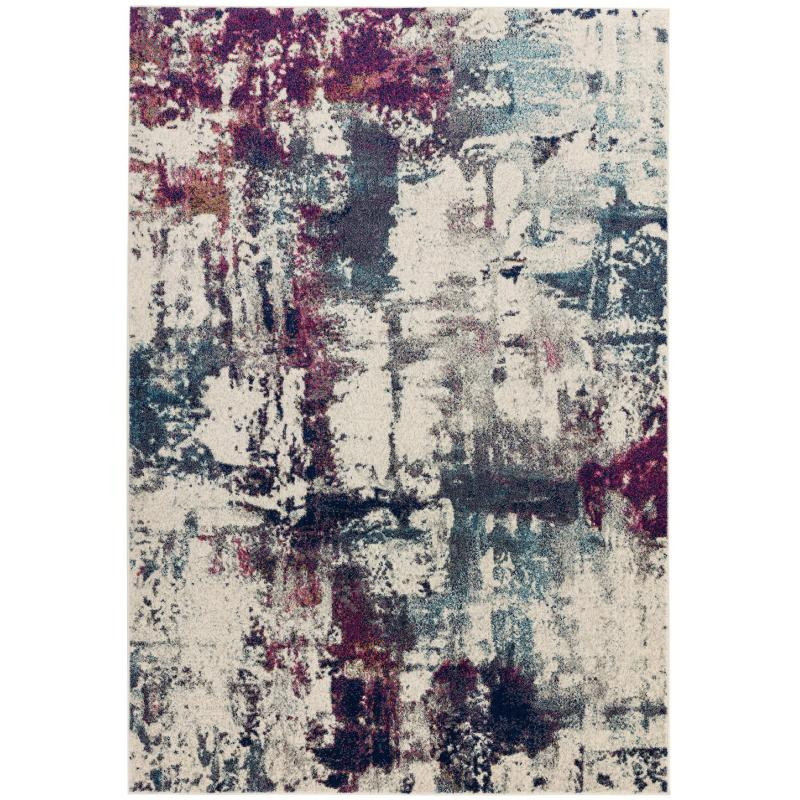 Nova Nv23 Abstract Navy Rug by Attic Rugs