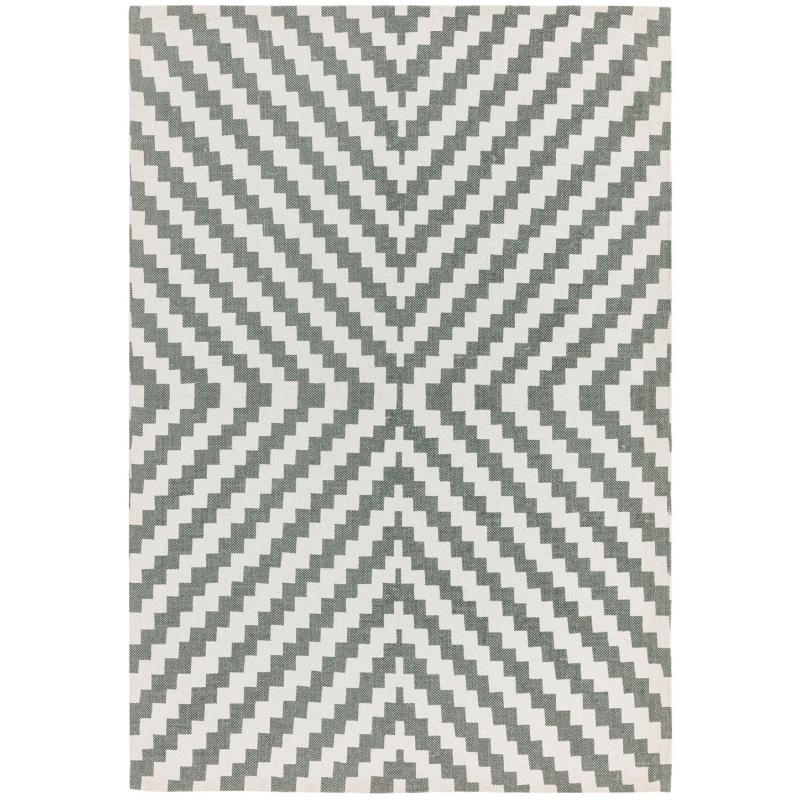 Onix On01 Geo Grey Rug by Attic Rugs