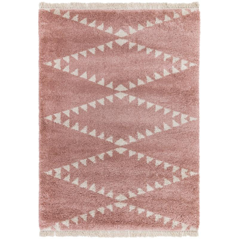 Rocco Rc01 Pink Rug by Attic Rugs