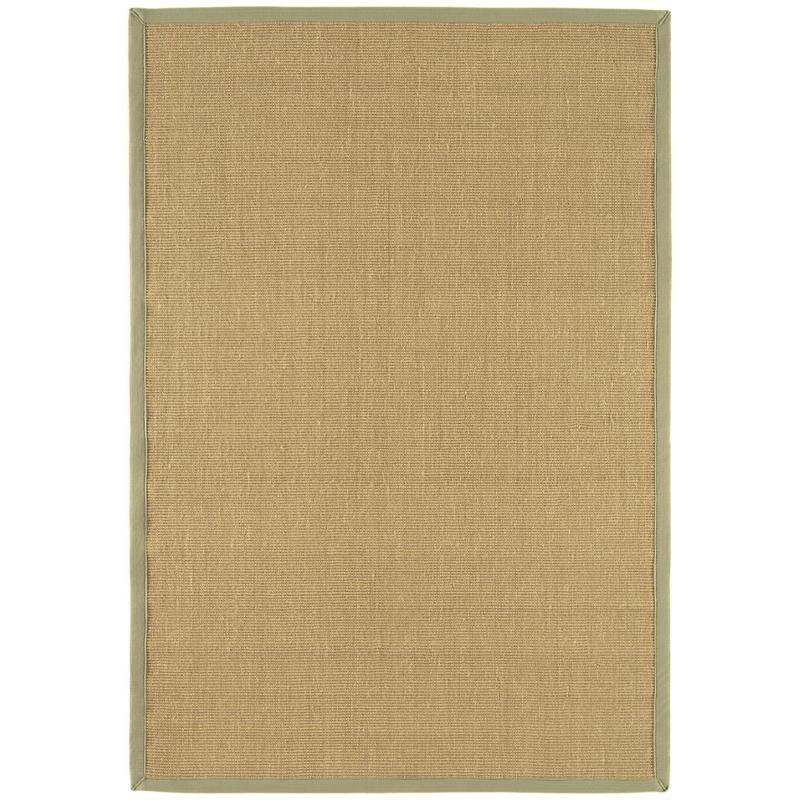 Sisal Linen/ Sage Rug by Attic Rugs