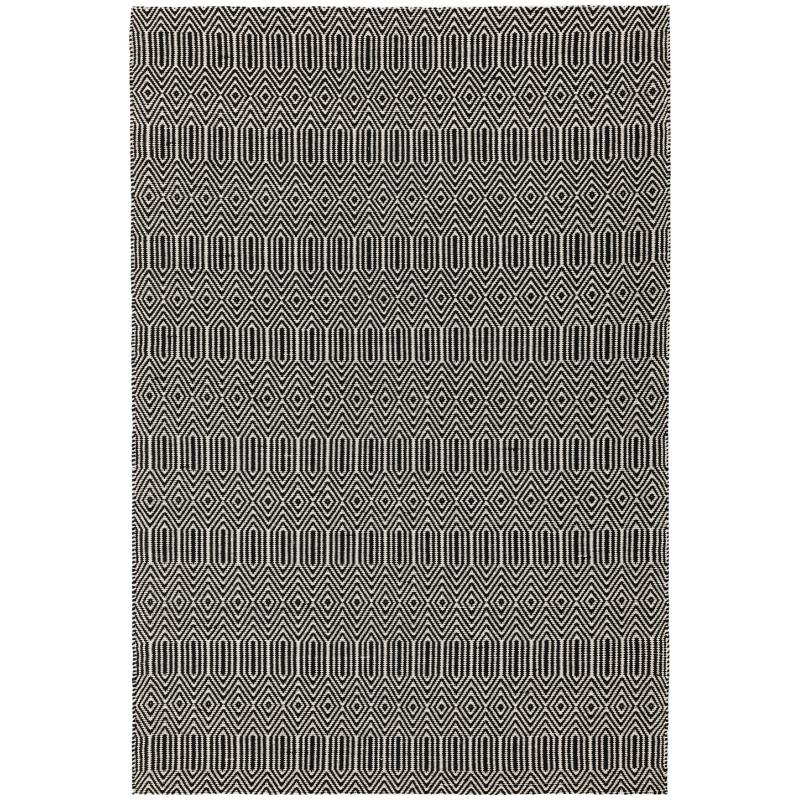 Sloan Black Rug by Attic Rugs