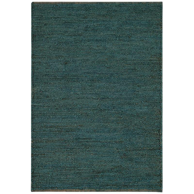 Soumak Teal Rug by Attic Rugs