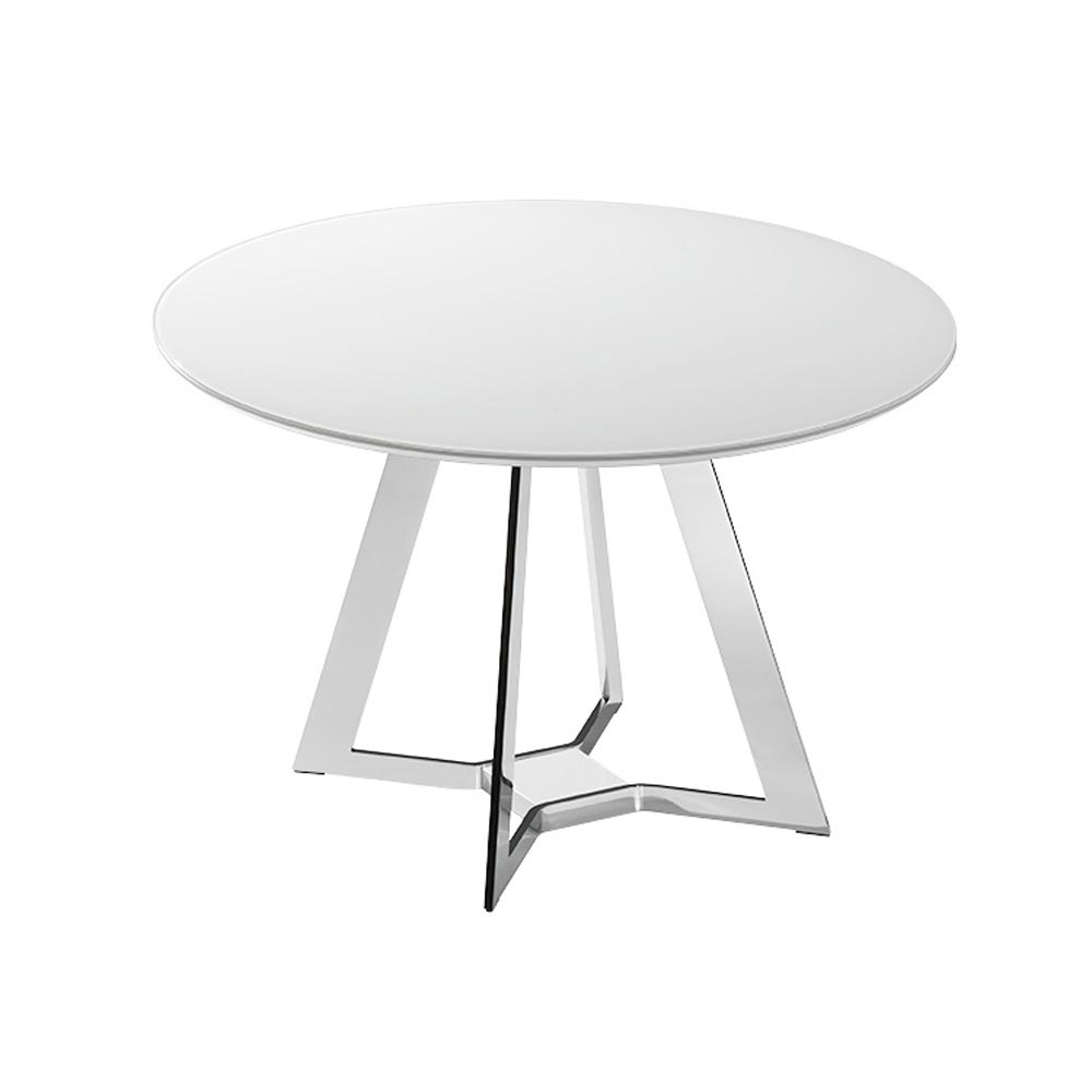 Mezzo Round Dining Table by Bacher Tische