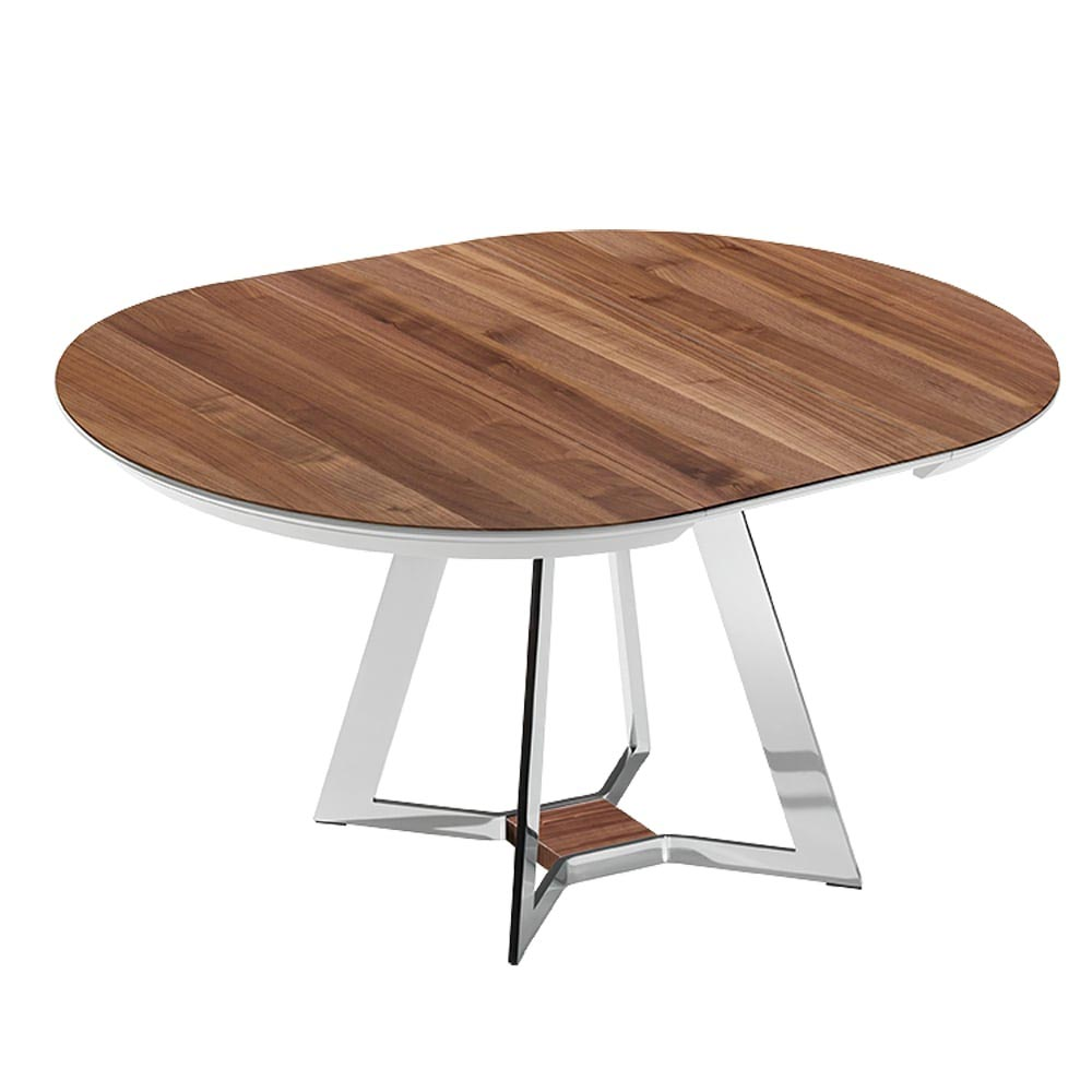 Mezzo Round Extending Dining Table by Bacher Tische