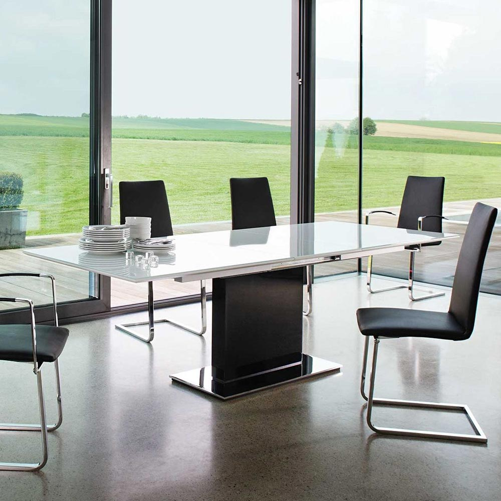 Ultra Plus Extending Dining Table by Bacher Tische
