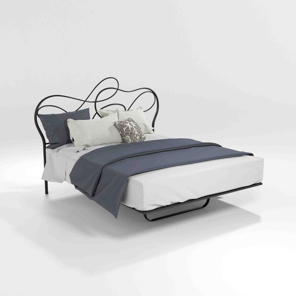 Mercury Double Bed by Barel