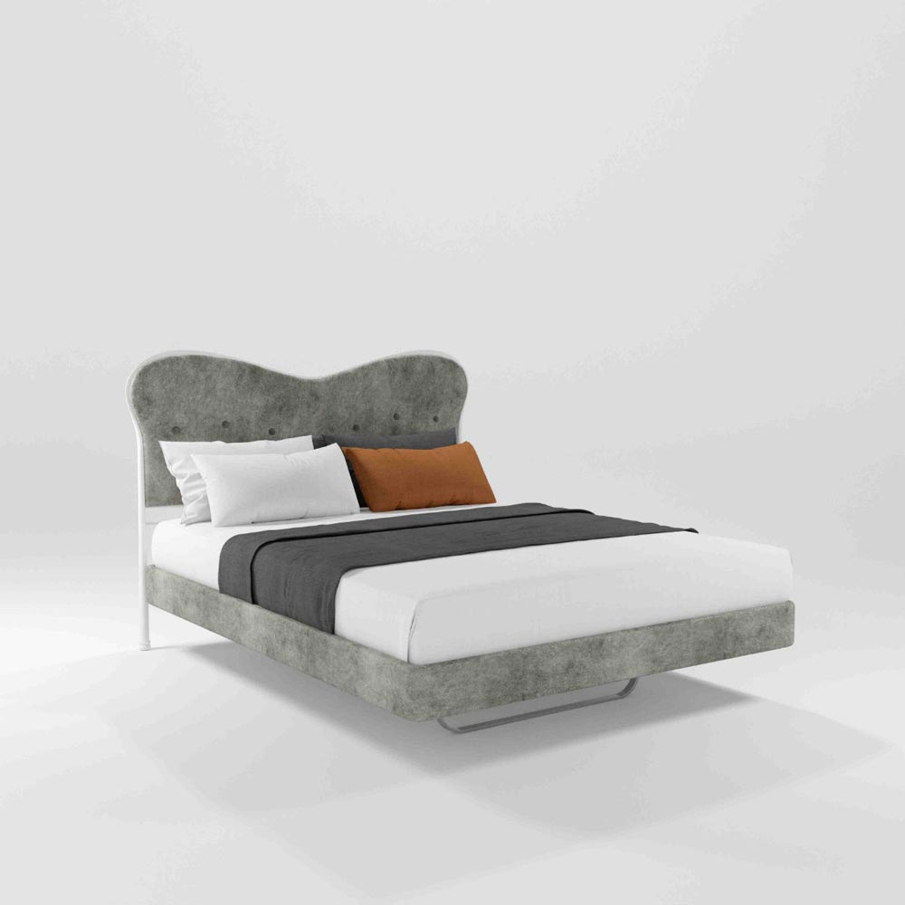Monroe Double Bed by Barel