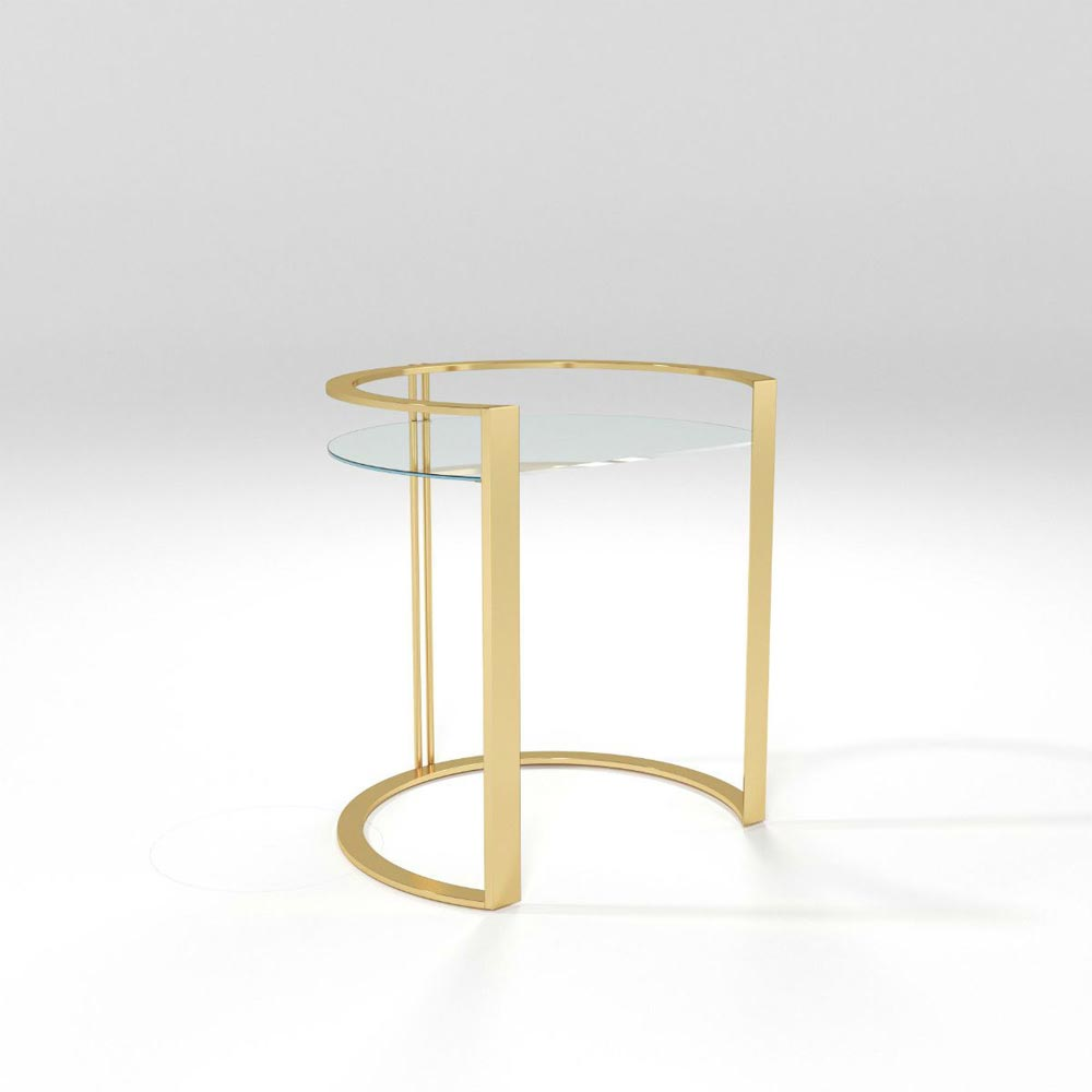 Richard Bedside Table by Barel