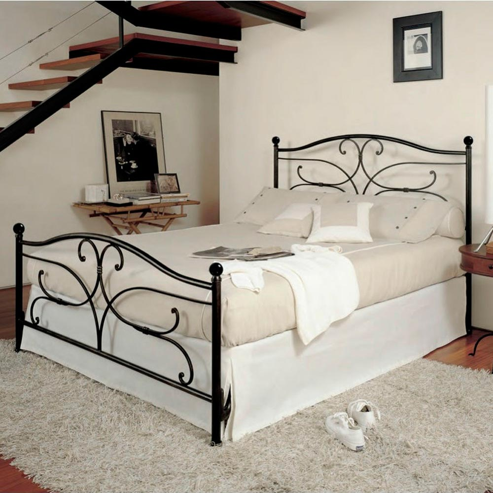 Sibelius Double Bed by Barel