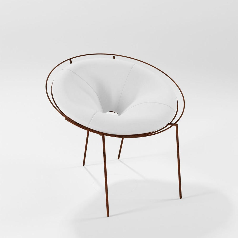 Spirale Small Armchair by Barel