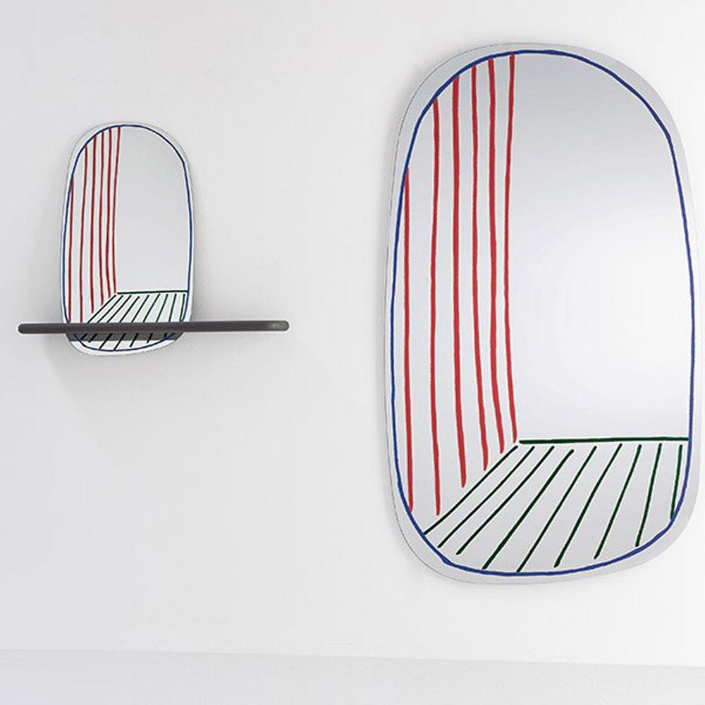 New Perspective Mirror by Bonaldo