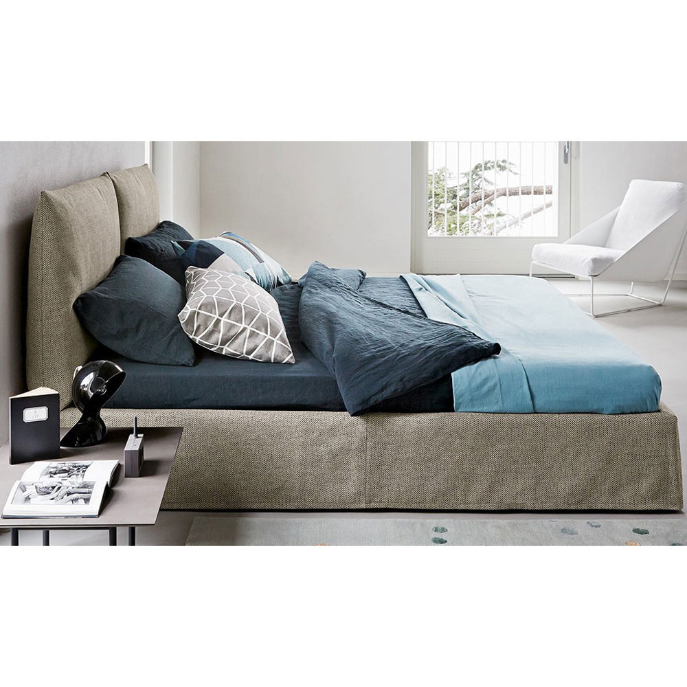 Toolate Double Bed by Bonaldo