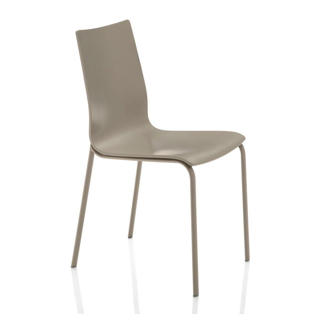 Alfa Without Cushion Dining Chair by Bontempi
