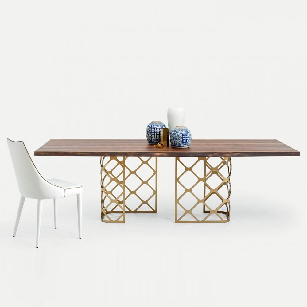 Majesty Dining Table by Bontempi