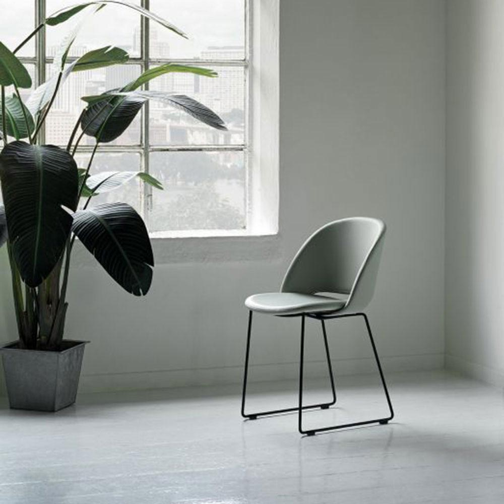 Polo Covered Dining Chair by Bontempi