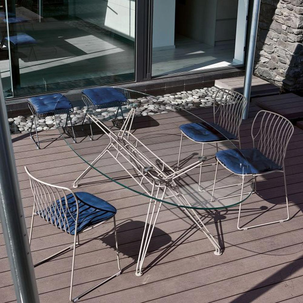 Sander Outdoor Dining Table by Bontempi