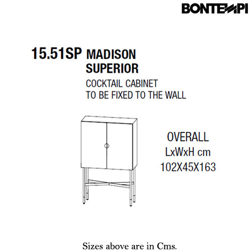 Madison Superior Supermarmo Madison Superior Supermarmo Drinks Cabinet by Bontempi