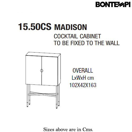 Madison Legno Laccato Madison Legno Laccato Drinks Cabinet by Bontempi