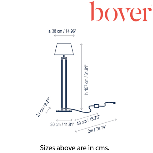 Ema P-157 Floor Lamp by Bover