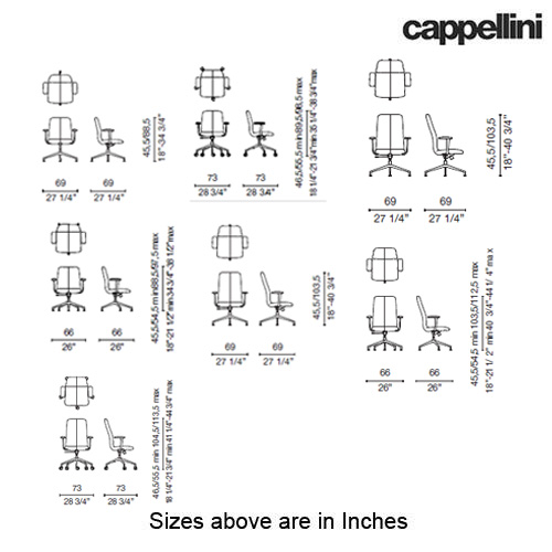 Lotus Comfort Swivel Chair by Cappellini