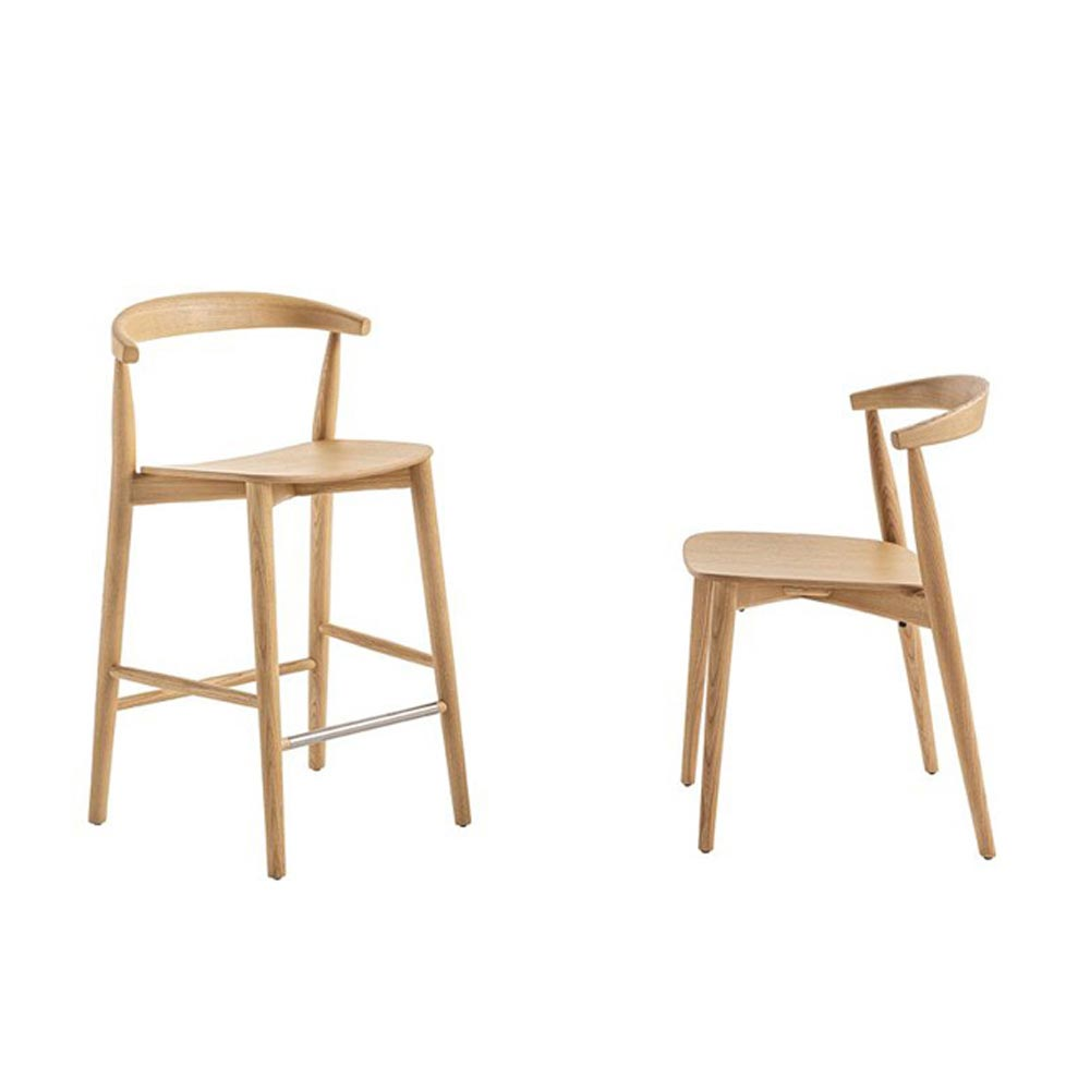 Newood Light Bar Stool by Cappellini