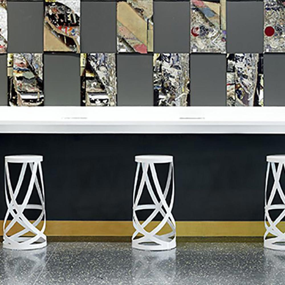 Ribbon Bar Stool by Cappellini